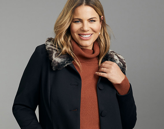 220bb6e9fa4 Layer up with a nice knit and some flats for an effortless casual look.  Browse our extensive range of plus size fashion from Sara today!
