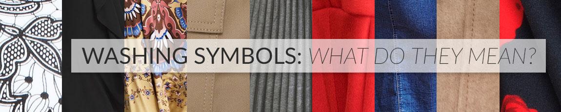 Clothing Care Washing Symbols Guide Ezibuy
