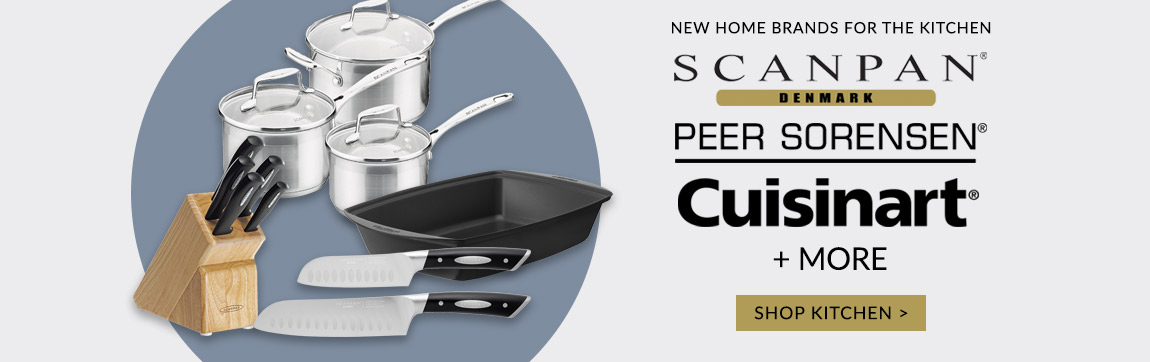 Shop new kitchen brands