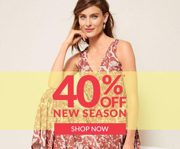 40% off New Arrivals