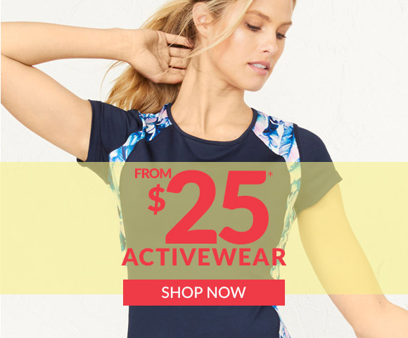 Activewear from $25