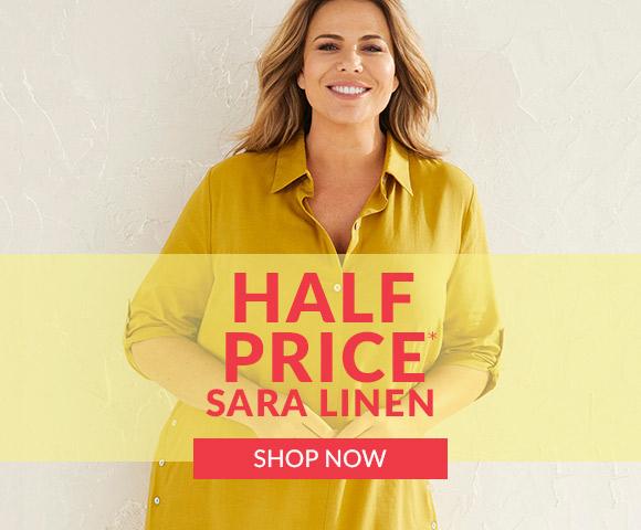 Half Price Sara Linen