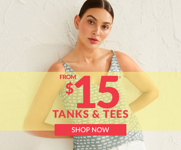 Tanks & Tee from $15