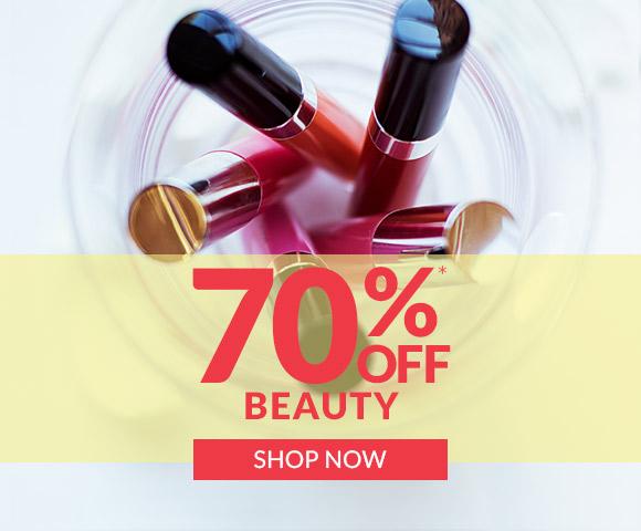 70% off Beauty