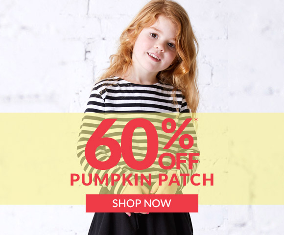 60% off Pumpkin Patch