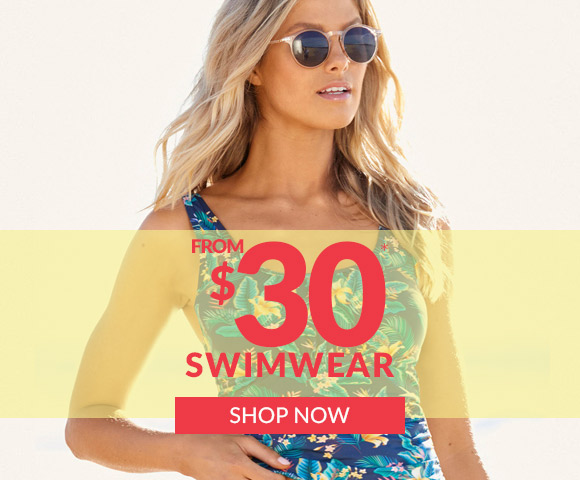 Swimwear from $30