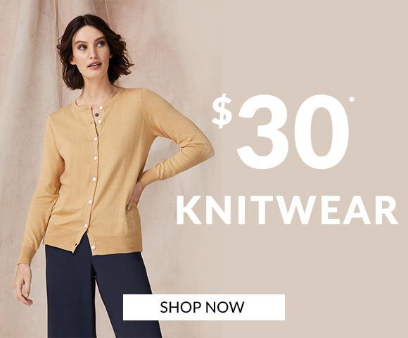$30 Knitwear