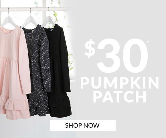 $30 Pumpkin Patch
