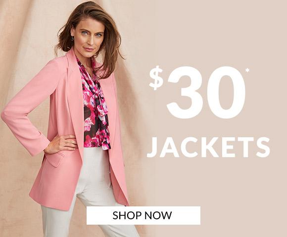 $30 Jackets