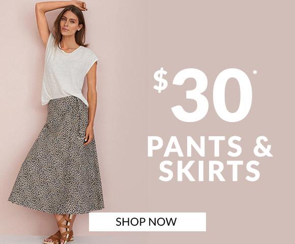 $30 Pants & Skirts