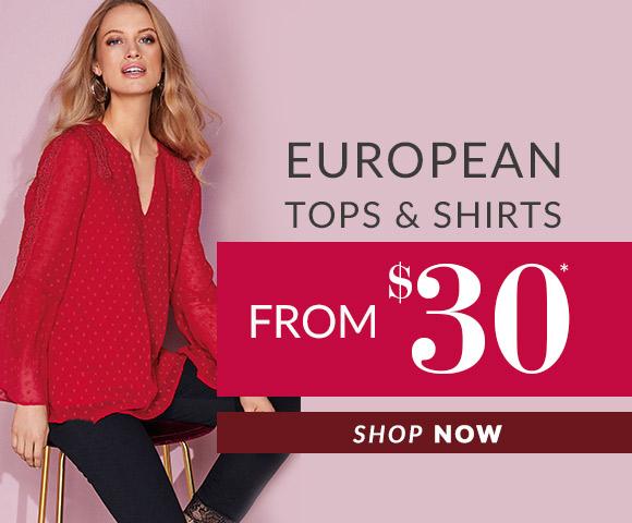 European Tops & Shirts