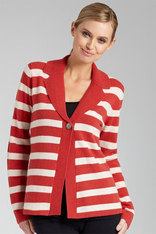Capture Lambswool Collared Cardigan
