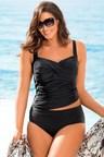 Plus Size - Sara Crossover Tankini Top
