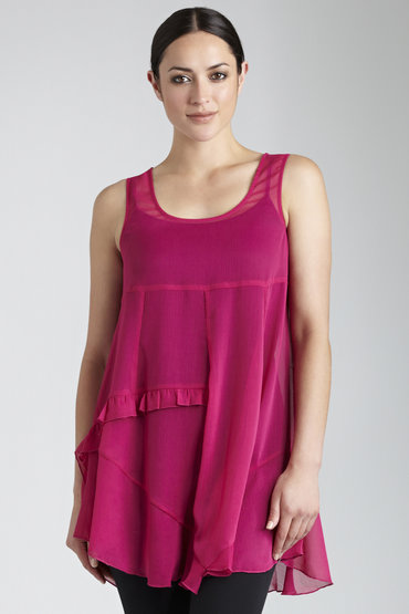 Capture Ruffle Tunic