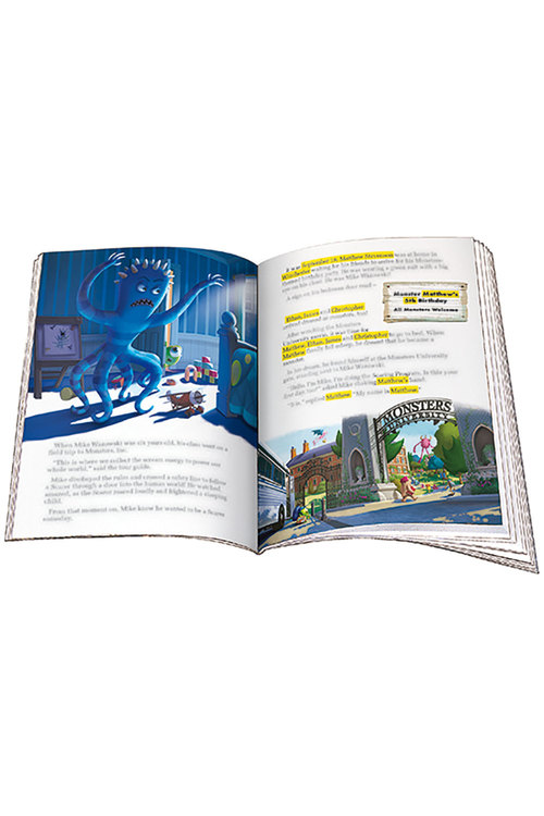 Personalised Adventure Book Disney-Pixar Monsters University