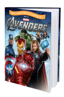 Personalised Adventure Book My Adventures with Marvel Avengers