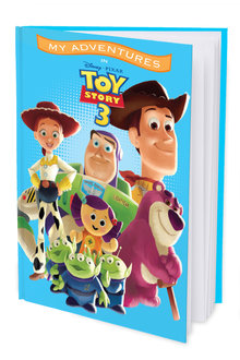 Personalised Adventure Book Toy Story 3