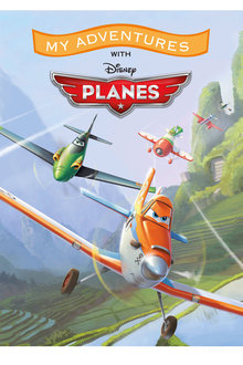 Personalised Adventure Book Disney Planes