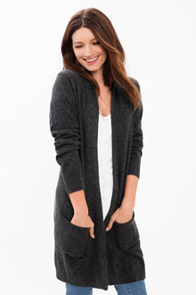 Capture Lambswool Longline Cardigan