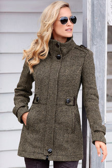 Urban Tweed Coat