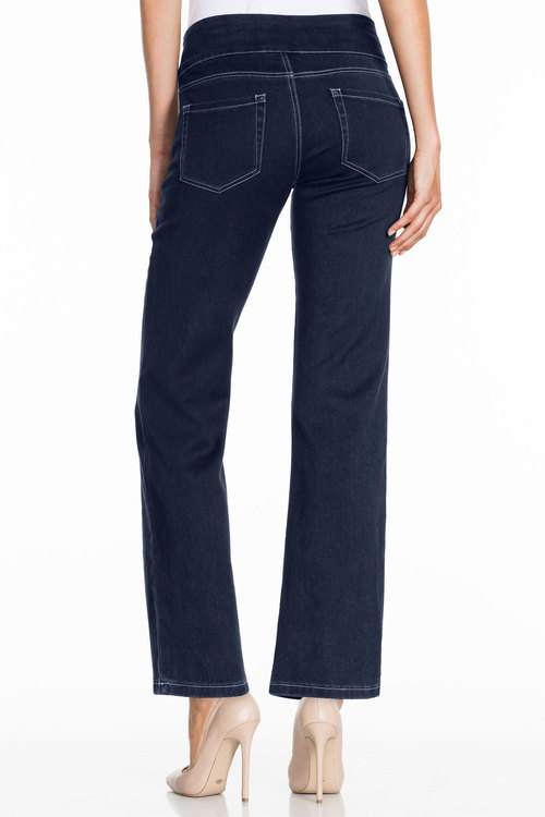 Capture SuperStretch Pull On Straight Leg Jeans