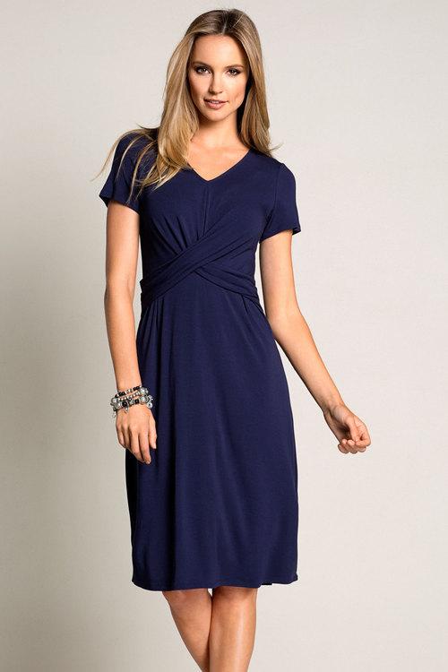 Capture Short Sleeved Dress