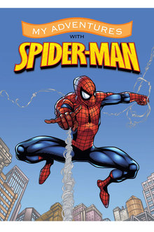 Personalised Adventure Book My Adventures with Spiderman