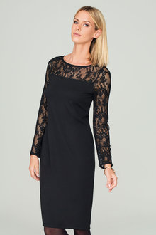 Capture Ponti Lace Dress