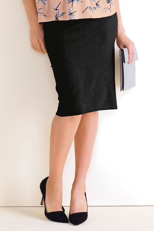 Next Black Tube Skirt (Maternity)