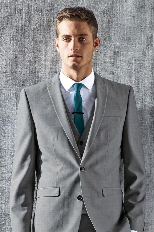 Next Light Grey Suit: Waistcoat Online | Shop EziBuy