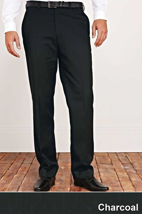 Next Plain Front Trousers