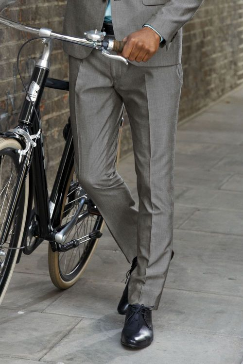 Next Light Grey Suit: Trousers