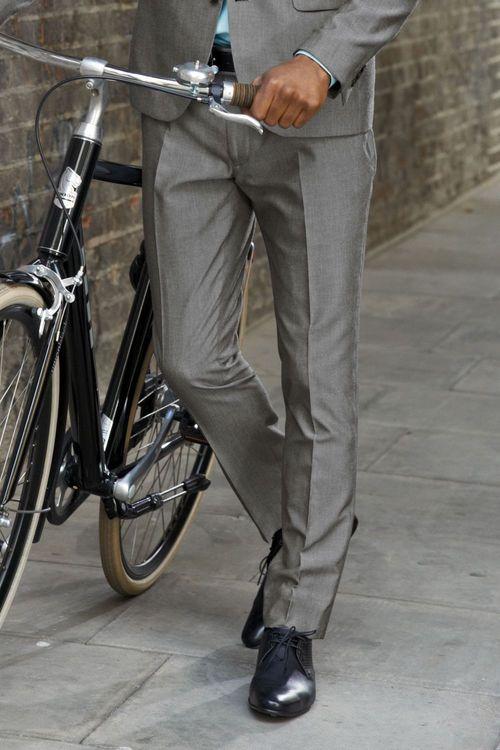Next Light Grey Suit: Trousers