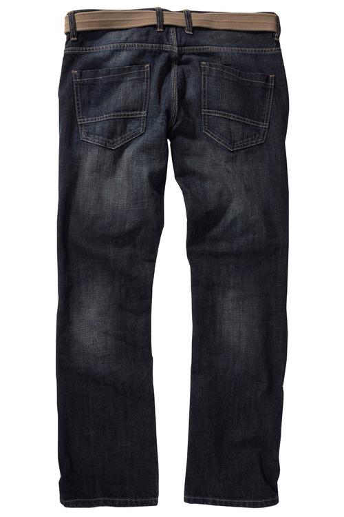 Next Dark Wash Belted Jeans