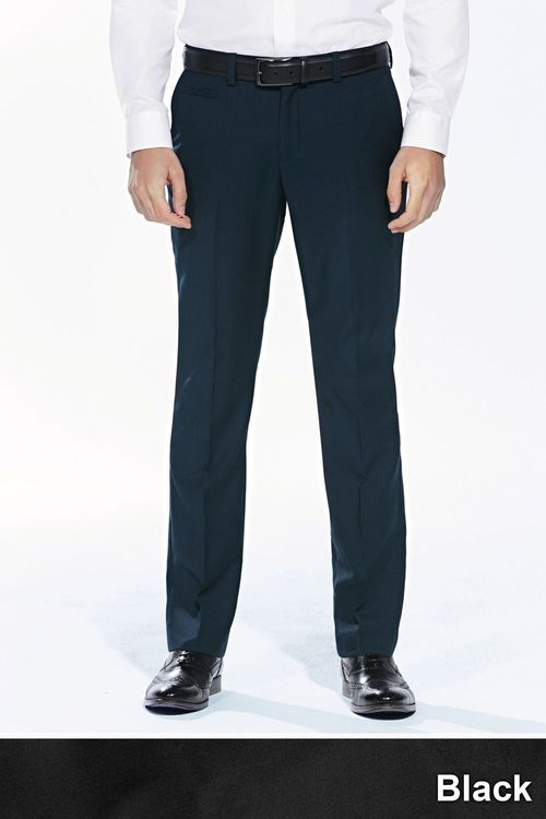 Next Wool Mix Slim Fit Trousers