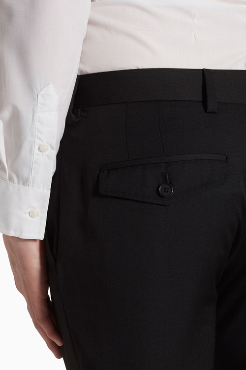 Next Wool Mix Slim Fit Trousers