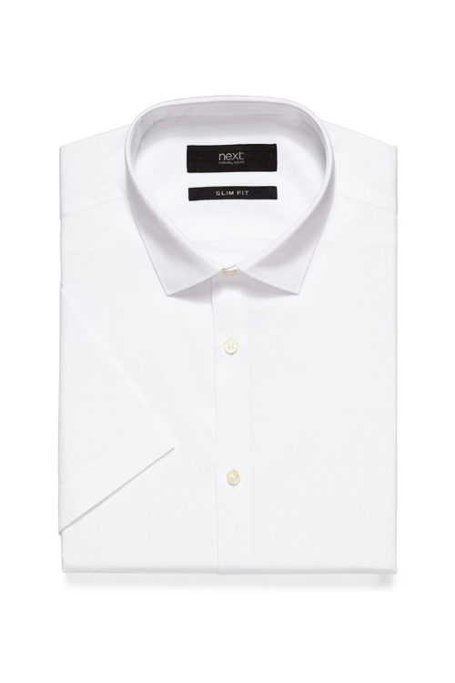 Next Plain Short Sleeve Shirt