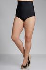 Plus Size - Sara High Waisted Swim Brief