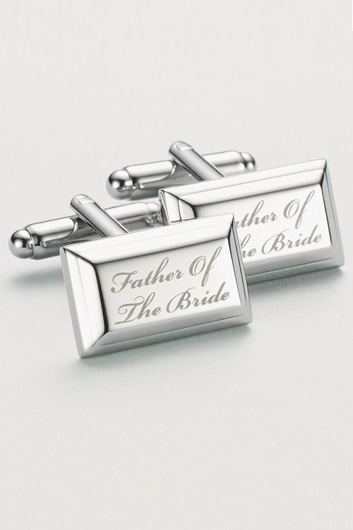 Next Father Of The Bride Wedding Cufflinks