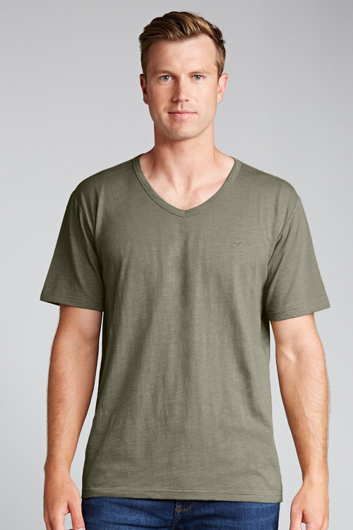 Southcape Lived in V Neck Tee