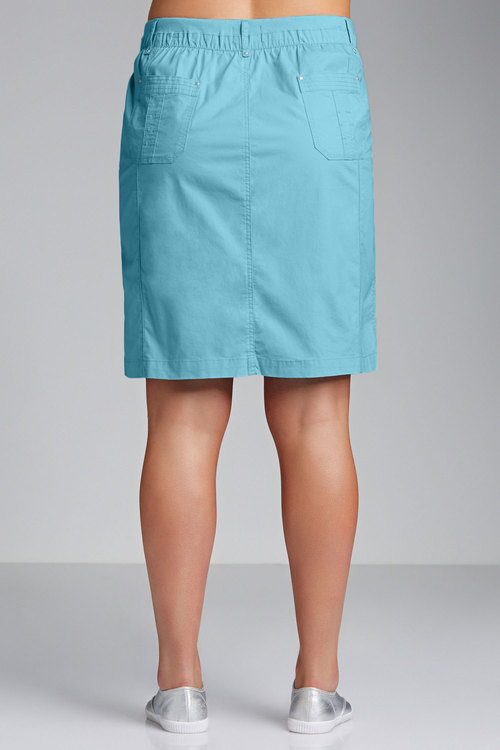 Plus Size - Sara Cargo Skirt