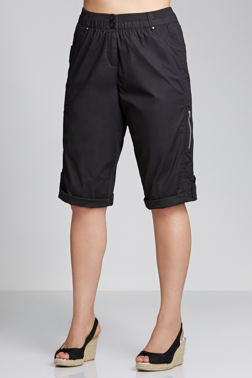 Plus Size - Sara Cargo Shorts
