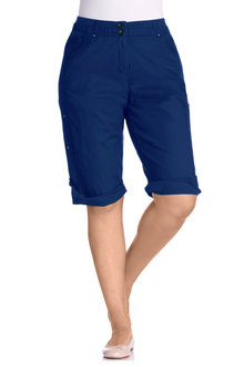 Plus Size - Sara Cargo Shorts - 118264