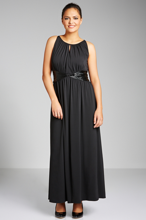 Sara Beaded Maxi Dress