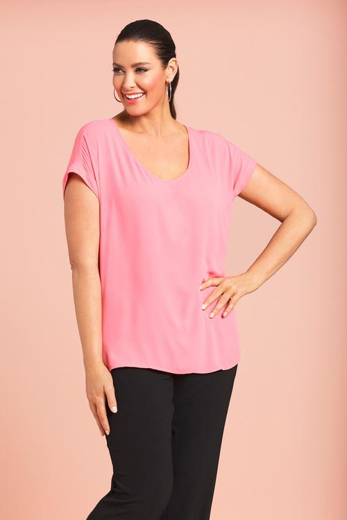 Plus Size - Sara Shell Top