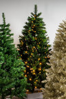 7ft Prelit Austrian Pine Christmas Tree
