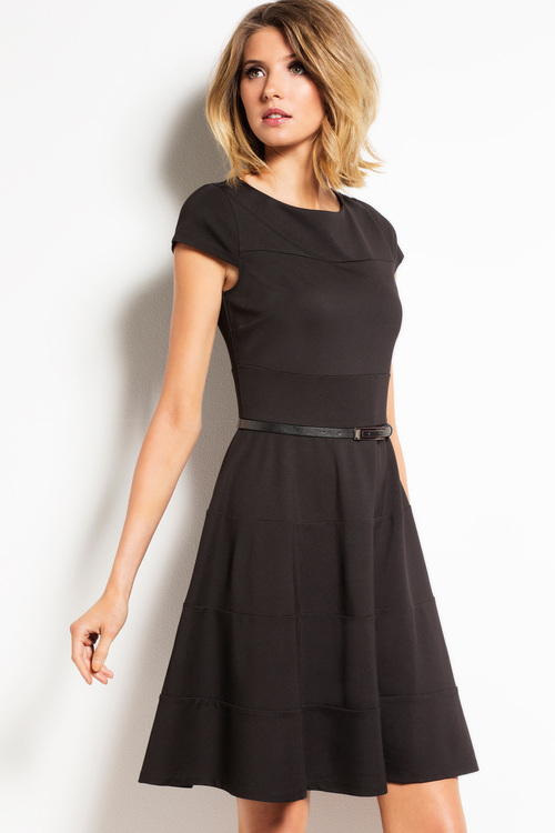 Capture Fit and Flare Ponte Dress
