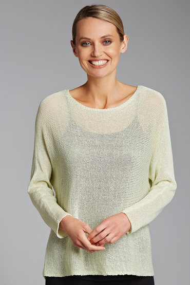 Emerge Mesh Knit Jumper