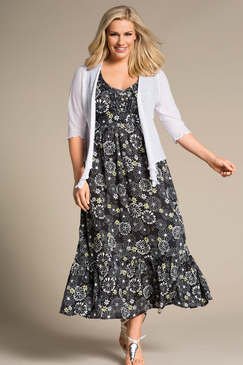 Plus Size - Evans Daisy Maxi Dress