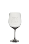 Personalised Giant Wine Glass - Wine O' Clock
